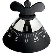 Achromatics Kitchen timer black