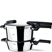Vitaquick Pressure cooker with an extra pan