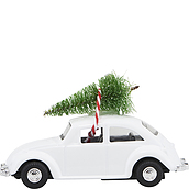 Mini Xmas Christmas decoration car
