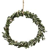 Misteltoe Christmas decoration wreath