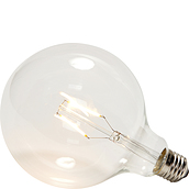 Hübsch LED lightbulb transparent E27