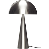 Hübsch Table lamp silver metal
