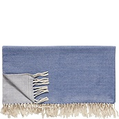 Hübsch Throw blanket tassels