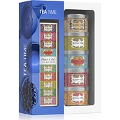 Kusmi Tea Time Tea service 5 x 25 g with infuser