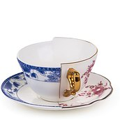 Zenobia Tea cup with a saucer