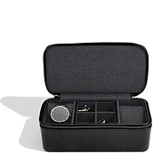 Stackers Wristwatches and cufflinks travel case
