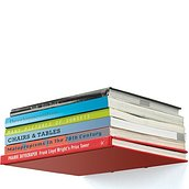 Conceal Shelf for books