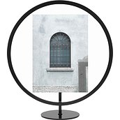 Infinity Picture frame 13 x 18 cm round