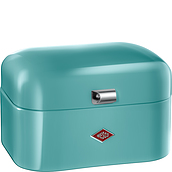 Single Grandy Bread container turquoise - small image